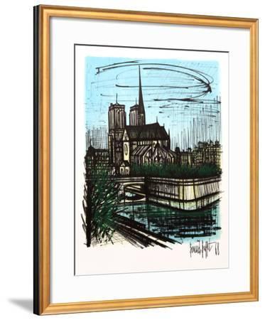 Notre Dame-Bernard Buffet-Framed Collectable Print