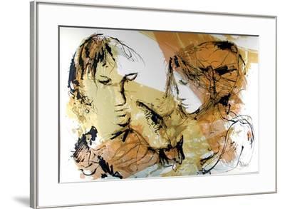Las dos Mujeres-Gino Hollander-Framed Collectable Print