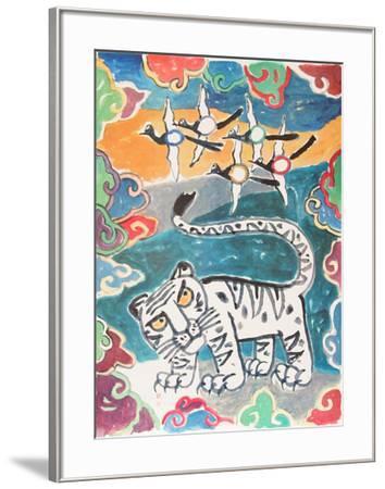 Mystic Star of the Orient-Ki-Chang Kim-Framed Premium Edition