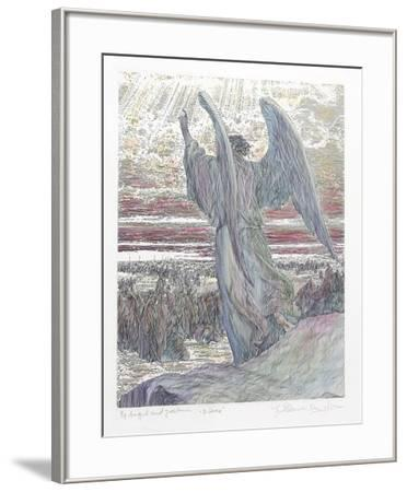 Angel and Joshua (Color)-Guillaume Azoulay-Framed Limited Edition