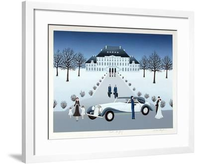 Rolls Royce Wedding-Wilma Longhammer-Framed Collectable Print