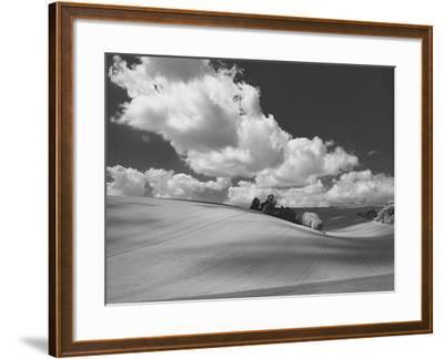 Land and Sky II B&W-Bill Philip-Framed Giclee Print