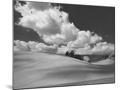Land and Sky II B&W-Bill Philip-Mounted Giclee Print