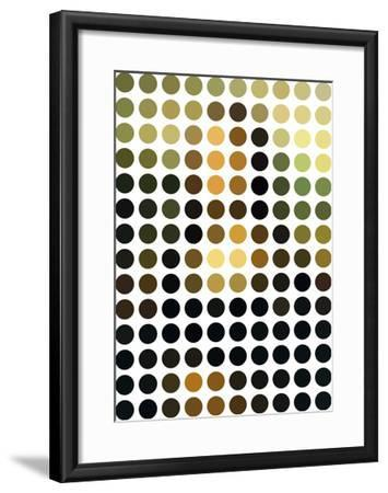 Mona Re-Mixed-Gary Andrew Clarke-Framed Giclee Print