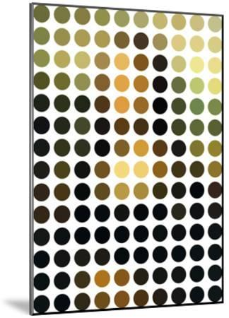 Mona Re-Mixed-Gary Andrew Clarke-Mounted Giclee Print