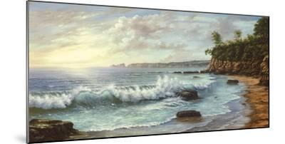 Summer Blue Sea-Keith Cast-Mounted Giclee Print