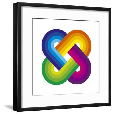 Solomons Knot-Gary Andrew Clarke-Framed Giclee Print