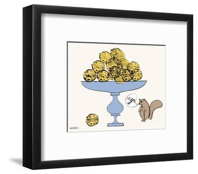 So Nutty-Andy Warhol-Framed Art Print