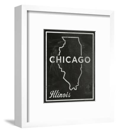 Chicago, Illinois-John Golden-Framed Giclee Print