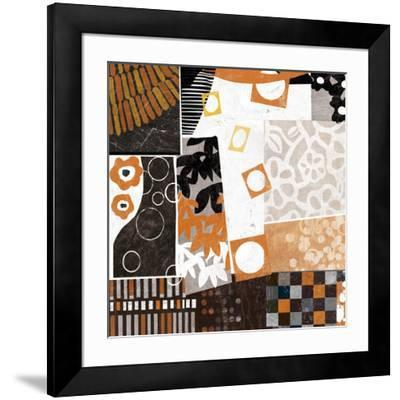 Forest Abstract - Detail-Philip Brown-Framed Art Print