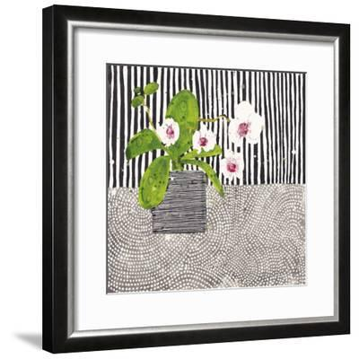 Orchid Mosaic I-Susan Brown-Framed Giclee Print