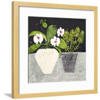 Orchid Mosaic II-Susan Brown-Framed Giclee Print