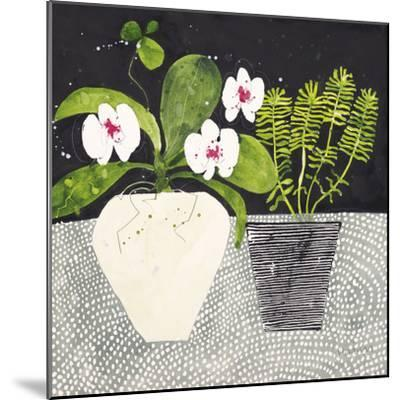 Orchid Mosaic II-Susan Brown-Mounted Giclee Print