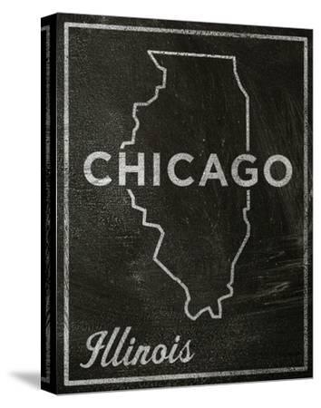 Chicago, Illinois-John Golden-Stretched Canvas Print