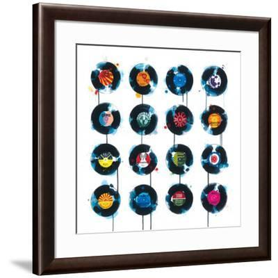 45rpm-James Paterson-Framed Art Print