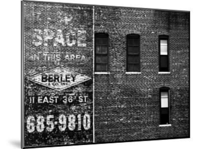 The City Speaks III-Jeff Pica-Mounted Art Print