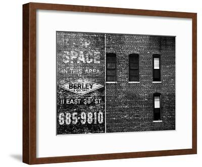 The City Speaks III-Jeff Pica-Framed Art Print
