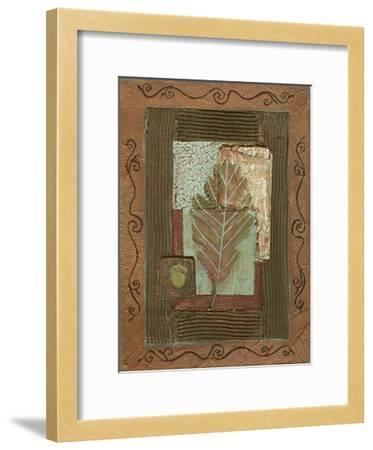 Leaf Quartet IV-Wendy Russell-Framed Art Print