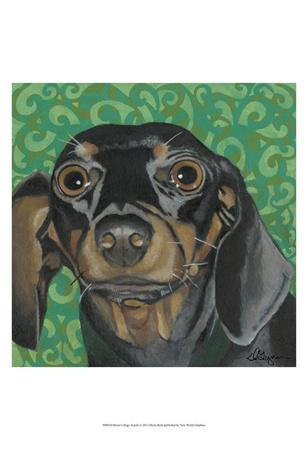 Dlynn's Dogs - Keelie-Dlynn Roll-Framed Art Print