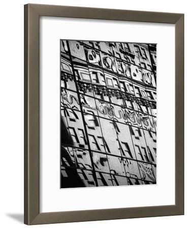 Reflections of NYC III-Jeff Pica-Framed Art Print