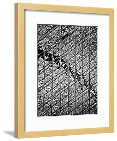 Reflections of NYC V-Jeff Pica-Framed Art Print