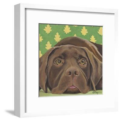 Dlynn's Dogs - Casey-Dlynn Roll-Framed Art Print