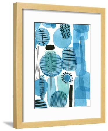 Mod Orbit II-Deborah Velasquez-Framed Art Print