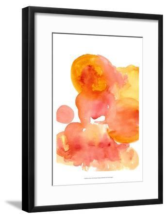 Fire Water I-Deborah Velasquez-Framed Art Print
