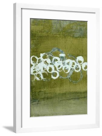 Green Orbs I-Charles McMullen-Framed Giclee Print