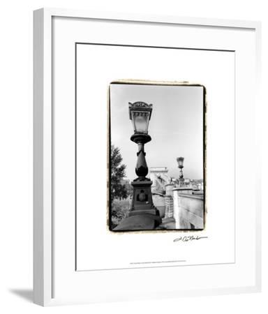 Chain Bridge over the Danube River-Laura Denardo-Framed Premium Giclee Print