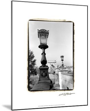 Chain Bridge over the Danube River-Laura Denardo-Mounted Premium Giclee Print