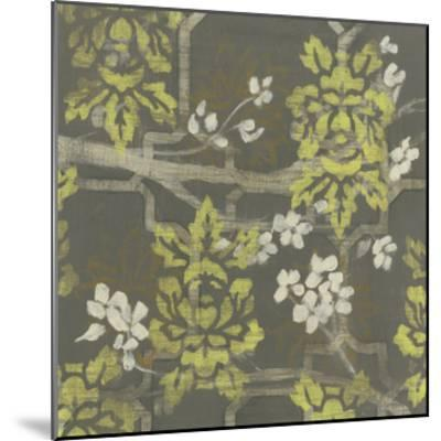 Patterned Blossom Branch II-Jennifer Goldberger-Mounted Giclee Print