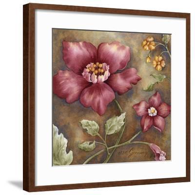Antique Beauties III-M^ Wagner-Heaton-Framed Giclee Print