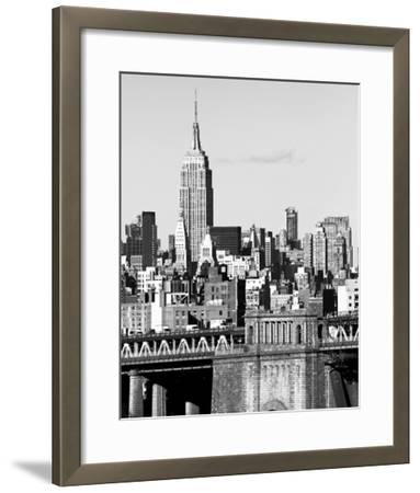NYC Skyline II-Jeff Pica-Framed Giclee Print