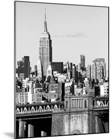 NYC Skyline II-Jeff Pica-Mounted Giclee Print