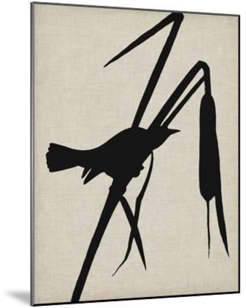 Audubon Silhouette II-Vision Studio-Mounted Giclee Print