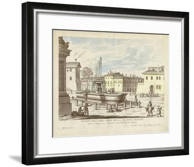 Fountains of Rome VI-Vision Studio-Framed Giclee Print