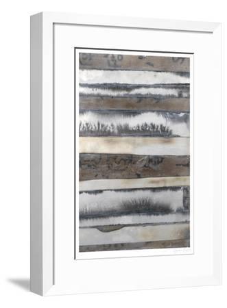 Earth & Smoke II-Jennifer Goldberger-Framed Limited Edition