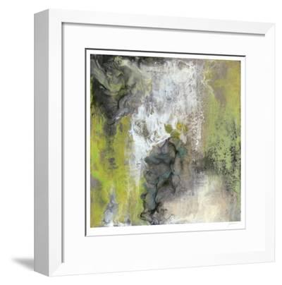 Peace of Mind in Green II-Ferdos Maleki-Framed Limited Edition