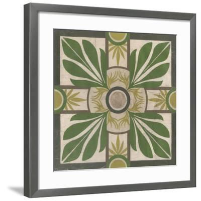 Palm Motif I-Erica J^ Vess-Framed Giclee Print