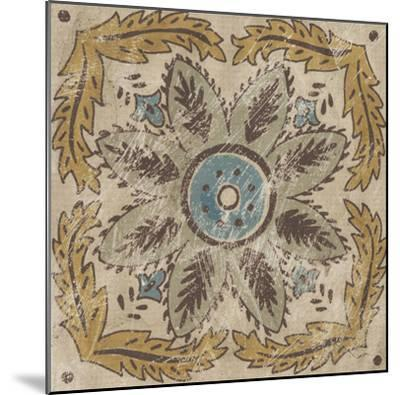 Batik Square IV-Chariklia Zarris-Mounted Giclee Print
