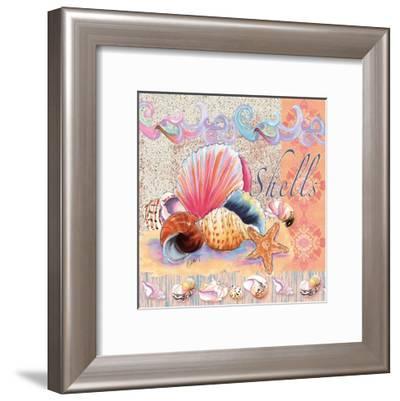 Shells Tile-Anne Ormsby-Framed Art Print
