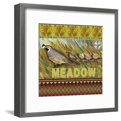 High Country Meadow Tile-Anne Ormsby-Framed Art Print