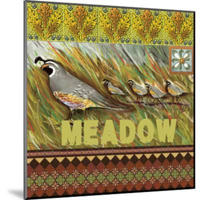 High Country Meadow Tile-Anne Ormsby-Mounted Art Print
