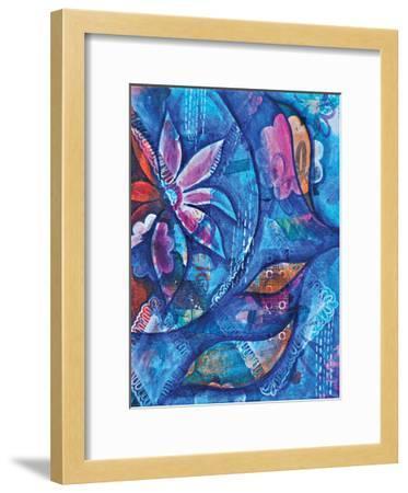 Kaleidoscope-Pam Varacek-Framed Art Print