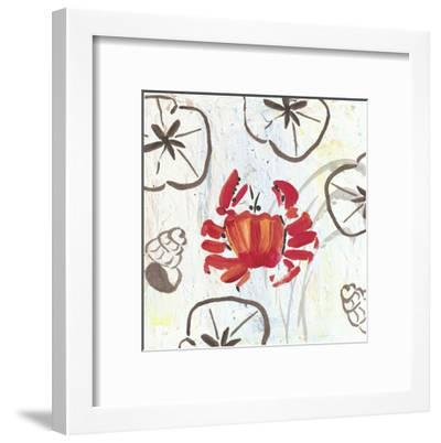 Crabby Beach-Beverly Dyer-Framed Art Print