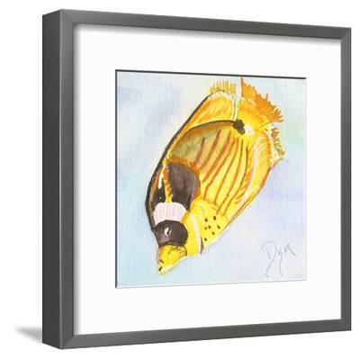 Tropical Fishy II-Beverly Dyer-Framed Art Print