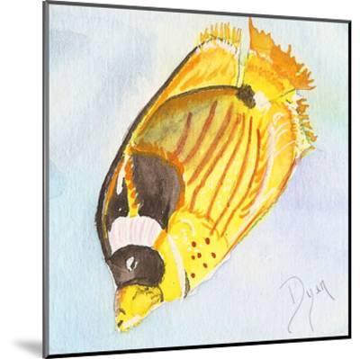 Tropical Fishy II-Beverly Dyer-Mounted Art Print