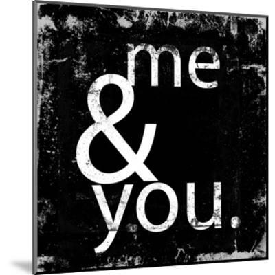 Me and You-Cynthia Alvarez-Mounted Art Print