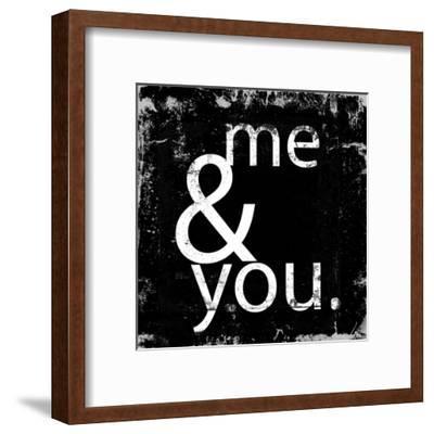 Me and You-Cynthia Alvarez-Framed Art Print
